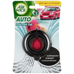 """Air Wick освежитель воздуха для автомобиля """"Райский сад"""""""