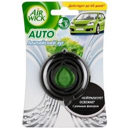 """Air Wick освежитель воздуха для автомобиля """"Альпийский луг"""""""