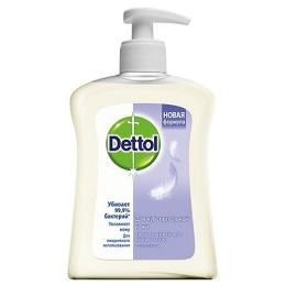 Dettol жидкое мыло для чувствительной кожи с глицерином