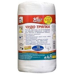 """Bagi салфетки """"Чудо-Тряпка"""" 20 х 30 см 70 листов"""