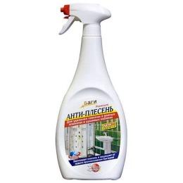 """Bagi чистящее средство """"Анти-плесень"""" для ванных комнат и душевых кабин, 500 мл"""