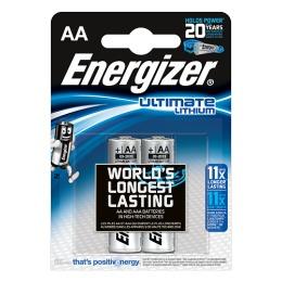 "Energizer батарейки ""Ultim Lithium"" AA литиевые, 2 шт"