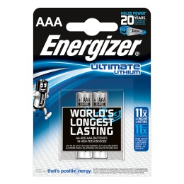 "Energizer батарейки ""Ultim Lithium (FR03/L92)"" AAA литиевые, 2 шт"