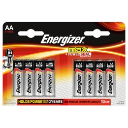 "Energizer батарейки ""MAX"" AA алкалиновые, 8 шт"