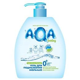 Aqa Baby гель для подмывания малыша с дозатором, 300 мл