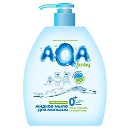 Aqa Baby жидкое мыло для малыша с дозатором,300 мл