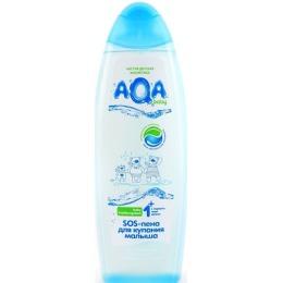 """Aqa Baby пена для купания малыша """"Противопростудная"""", 500 мл"""
