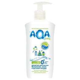 Aqa Baby средство для мытья бутылочек, сосок и детской посуды, 500 мл