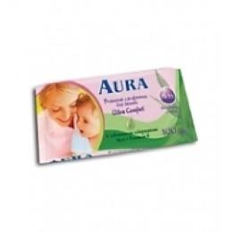 """Aura влажные салфетки """"Ultra Comfort. Алоэ + Витамин Е"""", 15 шт"""