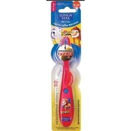 Longa Vita зубная щетка детская, музыкальная, 6-10 лет