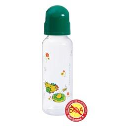 Курносики бутылочка полипропиленовая с силиконовой соской, 250 мл