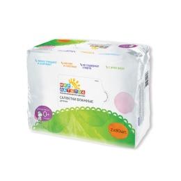 Мир детства влажные салфетки в дуо-упаковке, 2 х 80 шт