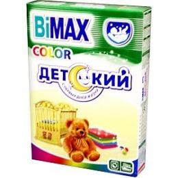 """Bimax порошок стиральный """"Колор"""" детский автомат, 400 г"""