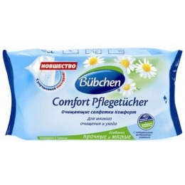 "Bubchen влажные салфетки ""Comfort"", 72 шт"