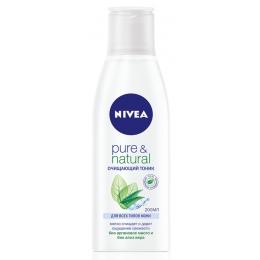 """Nivea очищающий тоник """"Pure&Natural"""", 200 мл"""