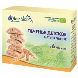 """Fleur Alpine печенье """"Натуральное"""", 150 г"""