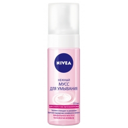 """Nivea нежный мусс для умывания """"Aqua Effect"""" для сухой кожи, 150 мл"""