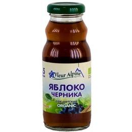 """Fleur Alpine сок """"Яблочно-черничный"""", 200 г"""