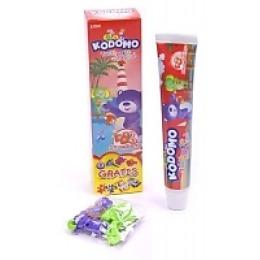 """Kodomo детская зубная паста """"Stawberry"""" с игрушкой, 45 г"""