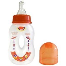 """Lubby бутылочка полипропиленовая с соской """"Бублик"""", 125 мл"""