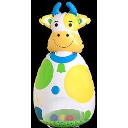 """Lubby игрушка надувная """"Коровка-неваляшка"""""""