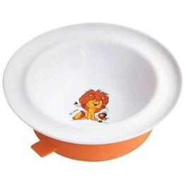 """Lubby тарелка с присоской """"Весёлые животные"""""""