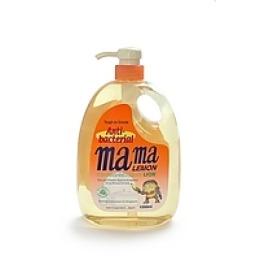 """Mama Lemon гель для мытья посуды и детских принадлежностей """"Антибактериальный"""" концентрированный, 1 л"""
