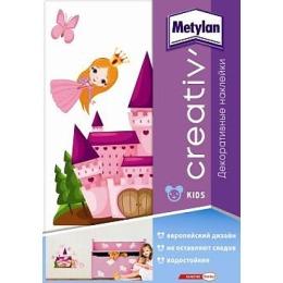 """Metylan creativ' декоративная наклейка """"Замок принцессы"""", 47*67 см"""