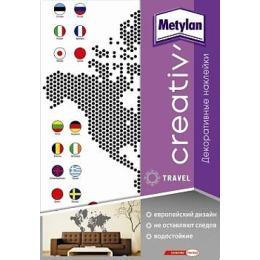 """Metylan creativ' декоративная наклейка """"Карта мира"""", 47*67 см"""