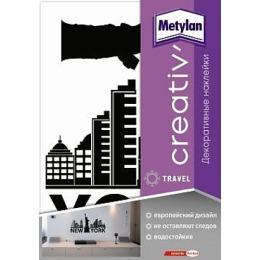 """Metylan creativ' декоративная наклейка """"Нью-Йорк"""", 47*67 см"""