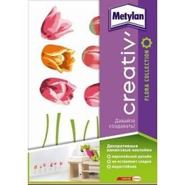 """Metylan creativ' декоративная наклейка """"Тюльпаны"""", 33,5*47 см"""