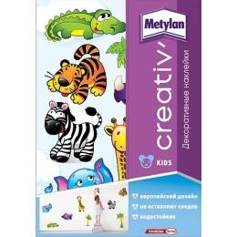 Metylan creativ' декоративная наклейка африка 47х67см