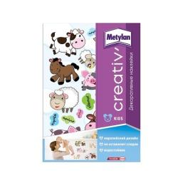 Metylan creativ' декоративная наклейка детеныши животных 33,5х47см