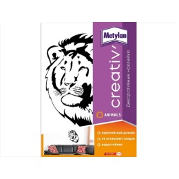 Metylan creativ' декоративная наклейка лев 47х67см