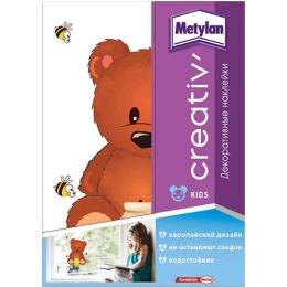 Metylan creativ' декоративная наклейка мишка с медом 24х33,5см