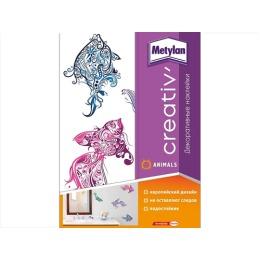 Metylan creativ' декоративная наклейка сказочные рыбы 33,5х47см