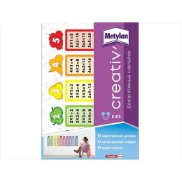 Metylan creativ' декоративная наклейка таблица умножения 47х67см