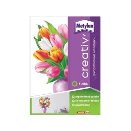 Metylan creativ' декоративная наклейка тюльпаны в вазе 33,5х47см