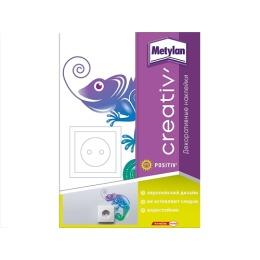 Metylan creativ' декоративная наклейка хамелеон 24х33,5см