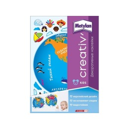 Metylan creativ' декоративная наклейка яркий мир 47х67см