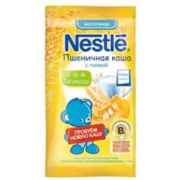 """Nestle каша молочная """"Пшеничная"""" с тыквой, 35 г"""