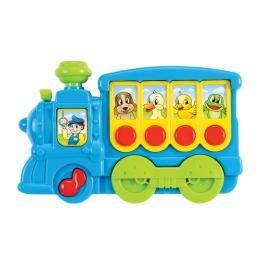 """Мир детства игрушка """"Музыкальный поезд"""""""