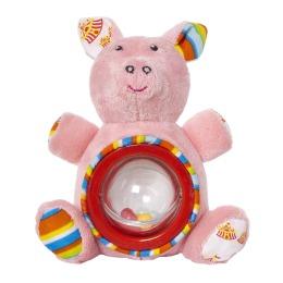 """Мир детства игрушка погремушка """"Акробат Хрюнтик. Волшебный цирк"""""""
