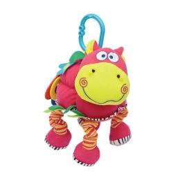 """Мир детства игрушка подвеска мягкая, развивающая """"Веселый бегемот"""""""