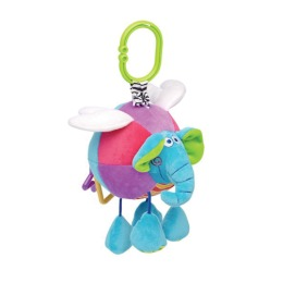 """Мир детства игрушка подвеска мягкая, развивающая """"Сказочный слоник"""""""
