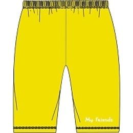 Курносики штанишки, желтый, рост 62 см