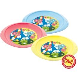 Курносики тарелка детская