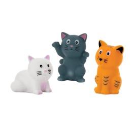 """Курносики набор игрушек-брызгалок для ванны """"Кошечки"""""""