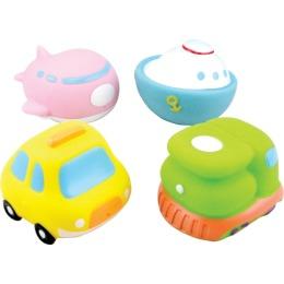 """Курносики набор игрушек-брызгалок для ванны """"Кругосветное путешествие"""""""
