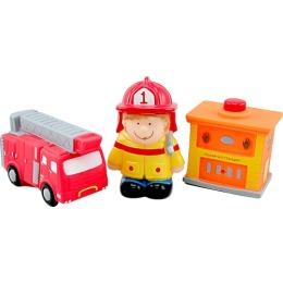 """Курносики набор игрушек-брызгалок для ванны """"Пожарные"""""""